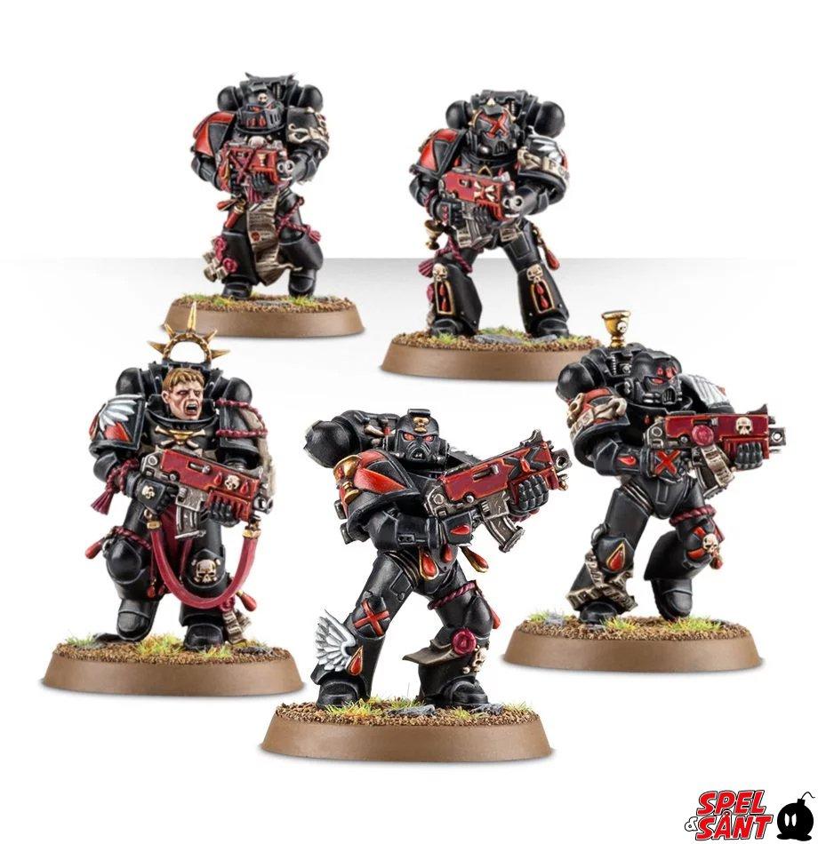 Warhammer 40k Space Marine Blood Angels Back Packs
