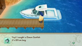 Screenshot på Story of Seasons Friends of Mineral Town