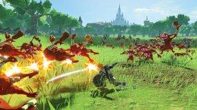 Screenshot på Hyrule Warriors Age of Calamity inkl. Förhandsbokningserbjudande (Bergsala UK4)