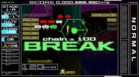 Screenshot på Space Invaders Forever
