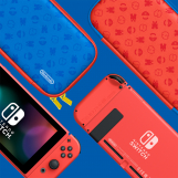 Screenshot på Nintendo Switch Special Mario Edition (inkl Röda Kontrollers & Bergsala Version)