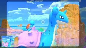 Screenshot på New Pokemon Snap (Bergsala UK4) inkl. Förbokningserbjudande