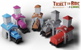 Screenshot på Ticket to Ride Europe 15th Anniversary Edition (Skandinavisk Version)