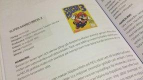 Screenshot på 8 Bitar på 80-Talet Boken om Nintendo i Sverige Fjärde Utgåvan 2015 (Pocket)