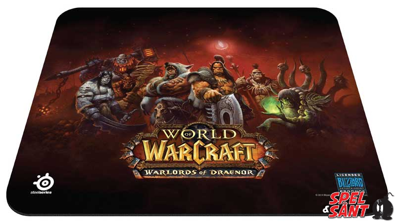 Steelseries Qck World Of Warcraft Warlords Of Draenor