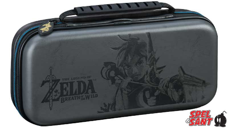 Nintendo Switch Deluxe Travel Case Legend of Zelda Grå - Spel   Sånt 7666a8f836f9c