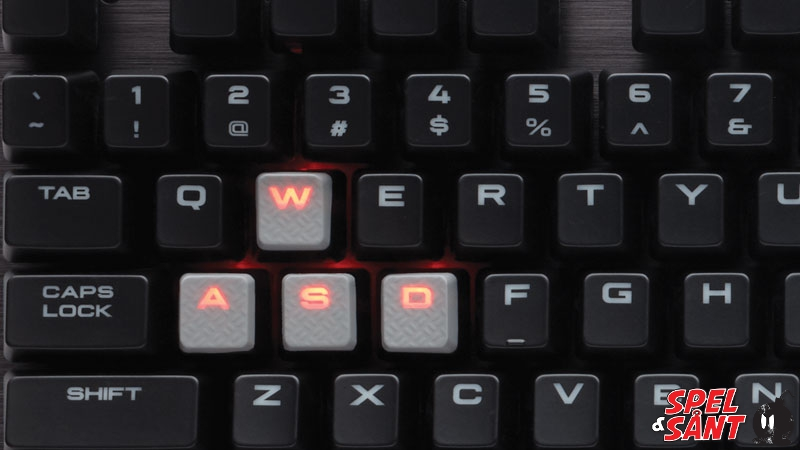 Corsair K70 LUX Red LED Cherry MX Red Mechanical Gaming Keyboard ... 216930a62abbf