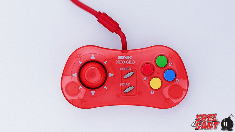 SNK Neo Geo Mini Samurai Shodown Limited Edition Nakoruru Version (Red)  [Retro]
